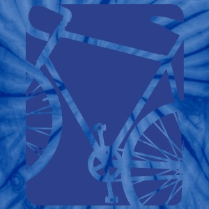 Spokes and Ink Bicycle Design - Unisex Tie Dye T-Shirt
