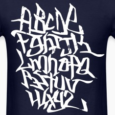Graffiti Alphabet T-Shirts