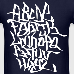 Graffiti Alphabet T-Shirts - Men's T-Shirt