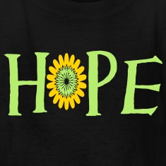 there_is_always_room_for_hope3 Kids' Shirts