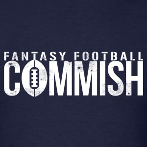 FANTASY FOOTBALL COMMISH T-Shirts - Men's T-Shirt