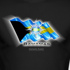 Bahamas Quality Tshirt, Flag of Bahamas, Bahamas T-Shirts, Bahamas  Long Sleeve Shirts - Men's Long Sleeve T-Shirt by Next Level