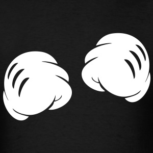 MICKEY FIST HANDS T-Shirts - Men's T-Shirt