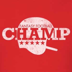 FANTASY FOOTBALL CHAMP T-Shirts - Men's T-Shirt