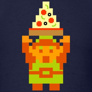 Triforce of Pizza T-Shirts - Men's T-Shirt