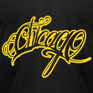chicago T-Shirts - Men's T-Shirt by American Apparel