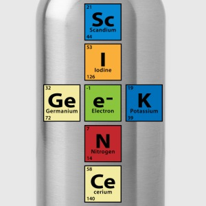 Science Geek Accessories - Water Bottle