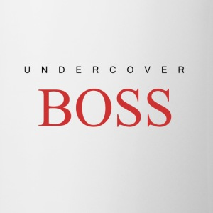 Undercover Boss, Funny Coffee Mug Design  - Coffee/Tea Mug