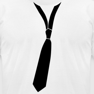 Cool tie cravate - Men's T-Shirt by American Apparel