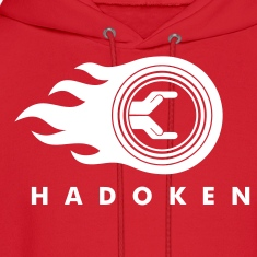 Red Hadoken Sweatshirt