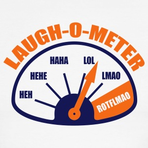 Laugh-O-Meter - Men's Ringer T-Shirt