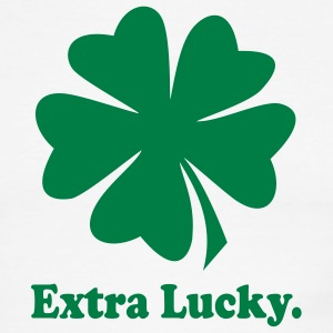Extra Lucky - Men's Ringer T-Shirt
