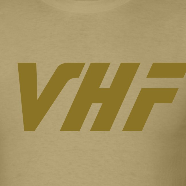 Male VHF style front/back design shirt