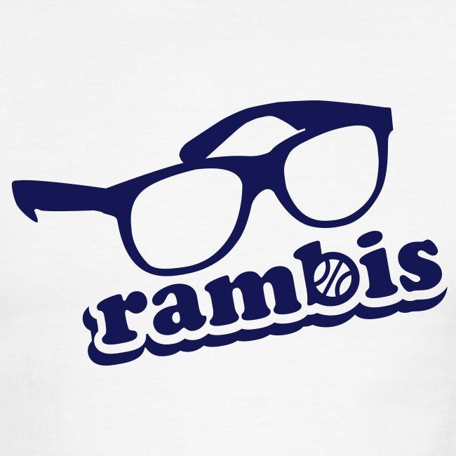 e9965b63116 motheringhut | Rambis! Retro Ringer - Mens Ringer T-Shirt