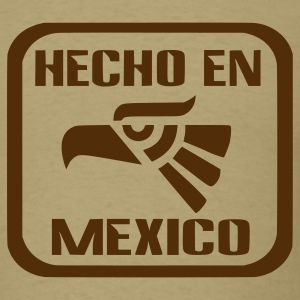 Khaki Hecho En Mexico Men - Men's T-Shirt