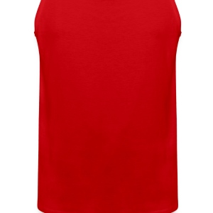 Red Bipolar bear Men - Men's Premium Tank