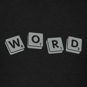 Black Word Men - Men's T-Shirt