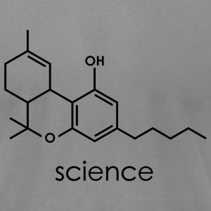 science - Men's T-Shirt by American Apparel