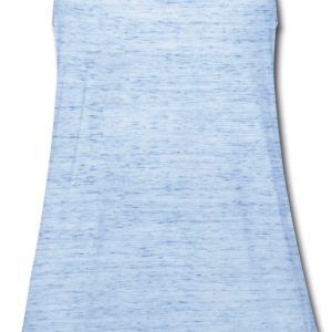 Sky blue bull shirt Men - Women's Flowy Tank Top by Bella