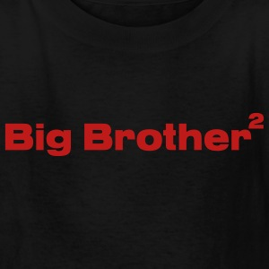 Black Big Brother of Twins Kids Shirts - Kids' T-Shirt