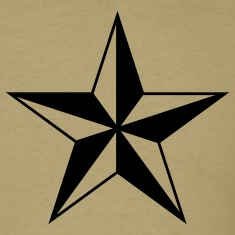 Khaki nautical north star  Men