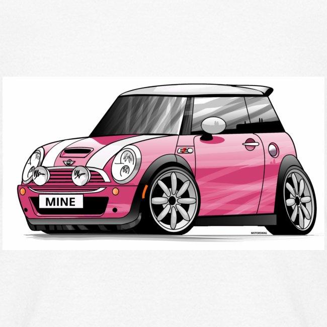 motor swag pink mini cooper s kids t shirt. Black Bedroom Furniture Sets. Home Design Ideas