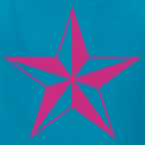 Classic pink nautical north star  Kids & Baby - Kids' T-Shirt