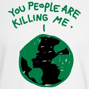 White People are Killing Me Men - Men's Long Sleeve T-Shirt
