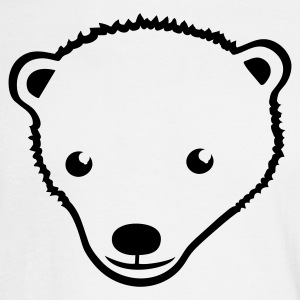 White Polar Bear Men - Men's Long Sleeve T-Shirt