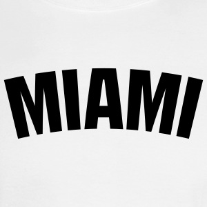White Miami Men - Men's Long Sleeve T-Shirt