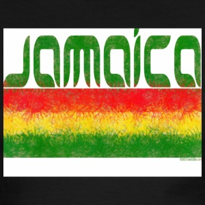 White/red Jamaica T-Shirts - Men's Ringer T-Shirt