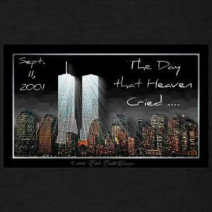 9/11 Never Forget Tribute - Men's T-Shirt