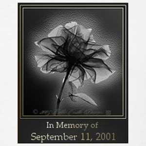 9/11 memorial Flower - Men's T-Shirt