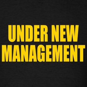 Black Under New Management Men - Men's T-Shirt