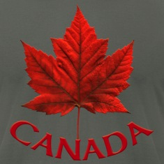 Canada Souvenir Men's Jersey T-shirt AA Maple Leaf Men's Canada Souvenir