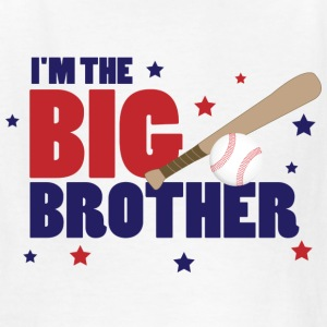 I'm the Big Brother Baseball - Kids' T-Shirt