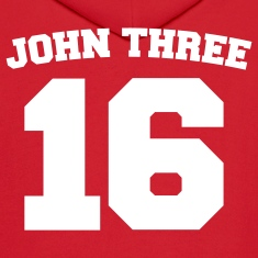 Red John Three 16 Jersey Sweatshirt