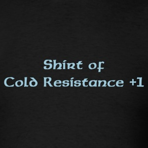 Black Shirt of Cold Resistance Men - Men's T-Shirt