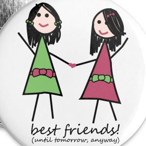 White Best Friends Accessories - Small Buttons