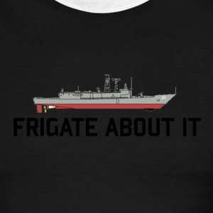 White/red Frigate Men - Men's Ringer T-Shirt