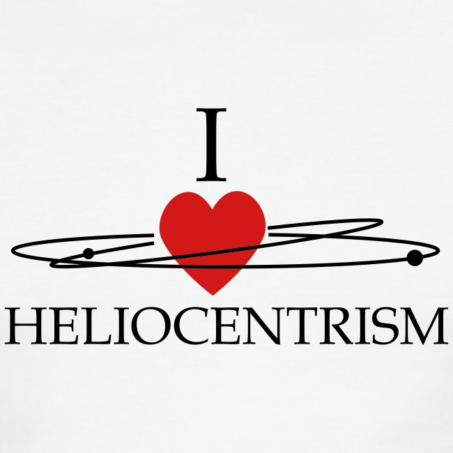 Heliocentrism for dudes