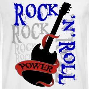 rock'n'roll - Men's Long Sleeve T-Shirt