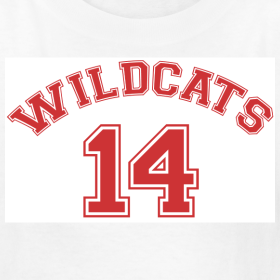 Design ~ SCHOOL MUSICAL WILDCATS - HIGH SCHOOL COSTUME Kids T-Shirt