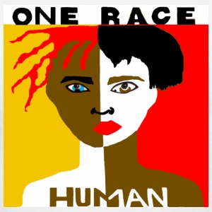 One Race Human T-shirt - Women's T-Shirt