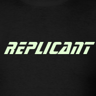 Design ~ REPLICANT T-SHIRT - Glow-in-the-dark Blade Runner Ultimate Edition
