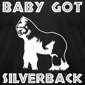 Black Baby Got Silverback Men - Men's T-Shirt by American Apparel