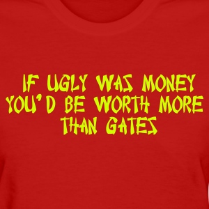 Red ugly_money Women - Women's T-Shirt