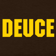 Design ~ Deuce Logo Ladies Long Sleeve