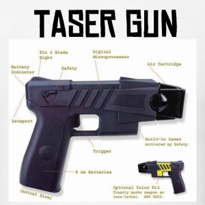 TASER GUN - Men's T-Shirt