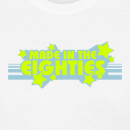 Design ~ Made in the 80s (White Womens LW Tee)